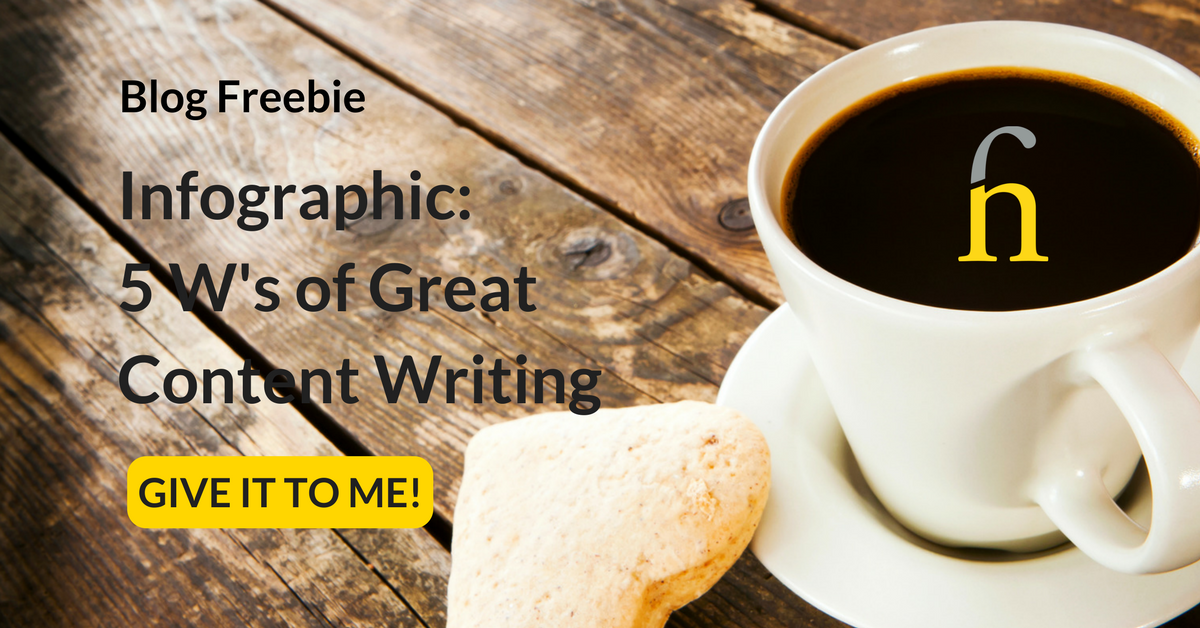 5 Ws Great Content Writing