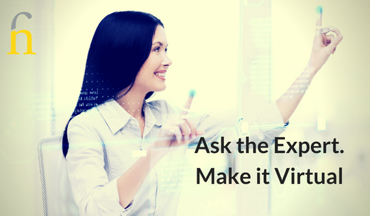 ask the expert make it virtual