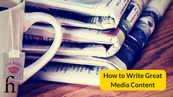 How to Write Great Media Content Press Release